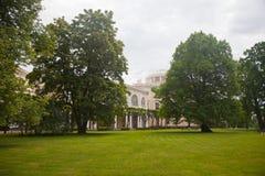 Caisse de central de palais de Paul I Image stock