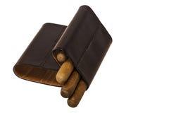 Caisse de cigare Photos stock