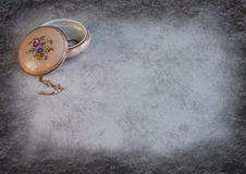 Caisse de porcelaine de grand-mamans Image libre de droits