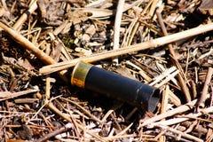Caisse de tir de chasse images stock