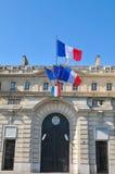 Caisse des Dépôts. Paris, France - July 9, 2015: The Caisse des Dépôts et Consignations is a French financial organization created in 1816, and Royalty Free Stock Image
