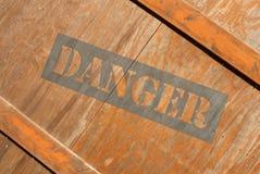 Caisse en bois Photos libres de droits