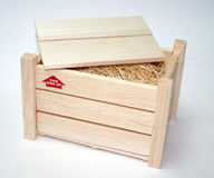 Caisse en bois Image libre de droits