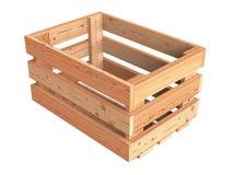 Caisse en bois photographie stock