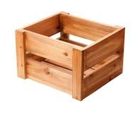 Caisse en bois ouverte Image libre de droits