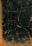 caisse en cuir d'appareil-photo des années 20 Image stock