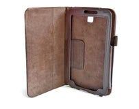 Caisse en cuir pour la tablette images stock