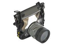 Caisse imperméable pour l'appareil-photo Photos libres de droits