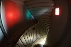 Caisse tordue d'escalier Photographie stock libre de droits