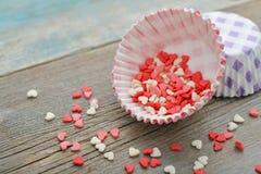 Caisses de petit gâteau Photographie stock libre de droits