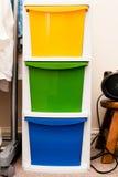 Caisses de stockage Image libre de droits