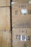 Caisses de thé image stock