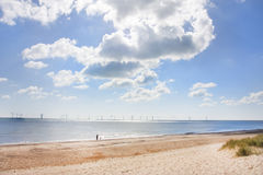 Caister on sea beach Stock Photo
