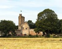 Caister slott Norfolk Arkivbild