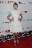 Caitlin Gerard en la premier cerrada de la gala de la noche del festival de película de Los Ángeles   Imagen de archivo libre de regalías