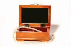 Caixão com grânulos Fotografia de Stock