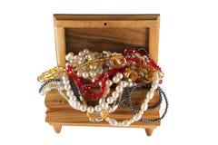 Caixão de madeira Imagens de Stock Royalty Free