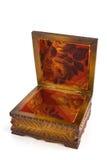 Caixão de madeira Fotos de Stock
