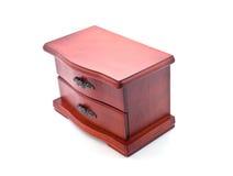 Caixão de madeira para a jóia Foto de Stock Royalty Free