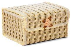 Caixão fechado para o armazenamento da jóia Foto de Stock Royalty Free