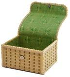Caixão vazio para o armazenamento da jóia Imagens de Stock Royalty Free