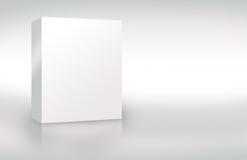 Caixa 2 da tampa em branco Foto de Stock