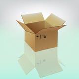 Caixa Ilustração Stock