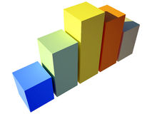 caixa 3d Imagens de Stock