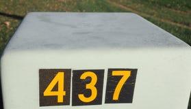 caixa 437 Imagem de Stock