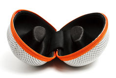 Caixa aberta dos eyeglasses Imagem de Stock