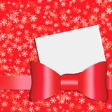 Caixa atual do vermelho Imagens de Stock Royalty Free