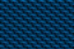 A caixa azul é um teste padrão como um fundo abstrato ilustração stock