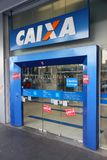 Caixa Bank, Brazil Stock Images