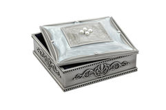 Caixa bonita para a jóia Fotografia de Stock