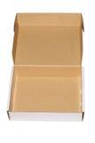 Caixa branca 1 Imagem de Stock