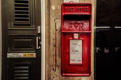 Caixa BRITÂNICA do borne fotografia de stock