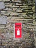 Caixa britânica vermelha do borne fotos de stock