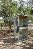 Caixa/cabine do telefone fotografia de stock royalty free