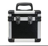 Caixa/caixa de ferramentas pretas Imagens de Stock