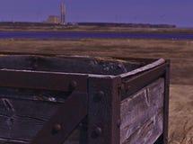 Caixa carbonosa 3483 do transporte imagem de stock
