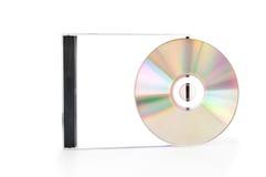 Caixa CD com disco Fotos de Stock