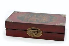 Caixa chinesa velha da xadrez Imagem de Stock