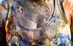 Caixa colorida do carnaval Fotografia de Stock
