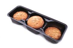 Caixa com bolinhos Imagem de Stock