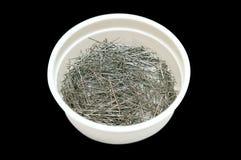 Caixa com pinos Imagem de Stock