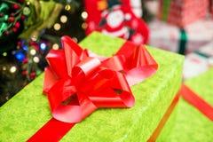 Caixa com presentes Fotos de Stock