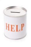 Caixa da ajuda Imagens de Stock