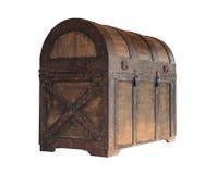 Caixa da arca do tesouro foto de stock
