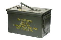 caixa da bala de 50 calibres Ilustração do Vetor