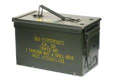 caixa da bala de 50 calibres Imagem de Stock